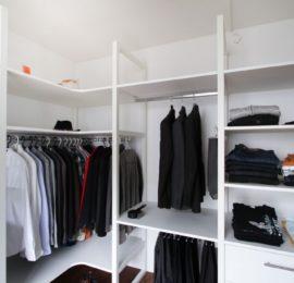 Begehbare Garderobe